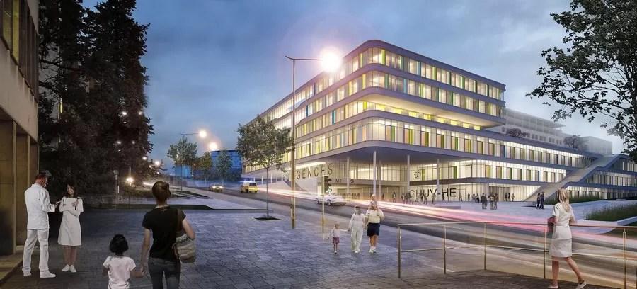 Childrens Hospital At Lausanne University Hospital Switzerland E Architect
