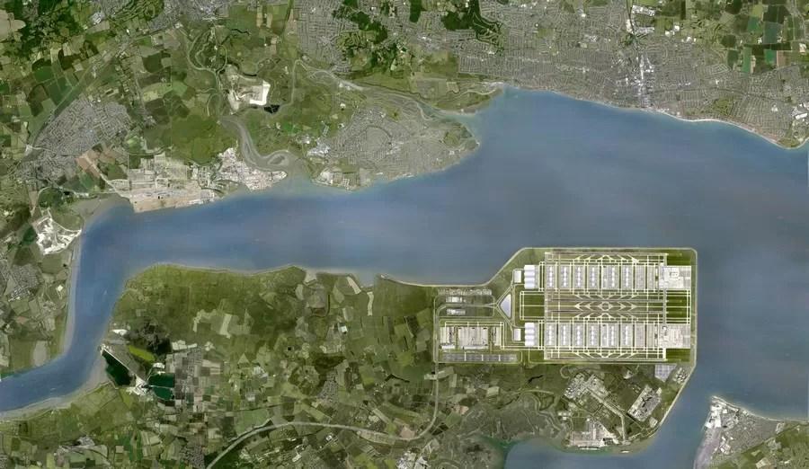 Thames Hub Airport 5 E Architect
