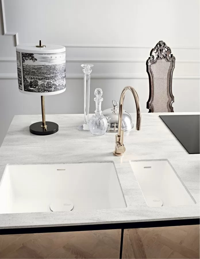 DuPont Corian Ready Made Kitchen Sinks E Architect