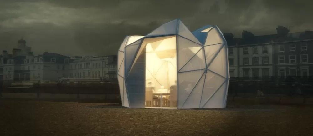 Eastbourne Beach Huts 1 E Architect