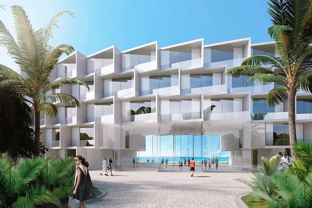 Coral Hotel On The Seychelles E Architect