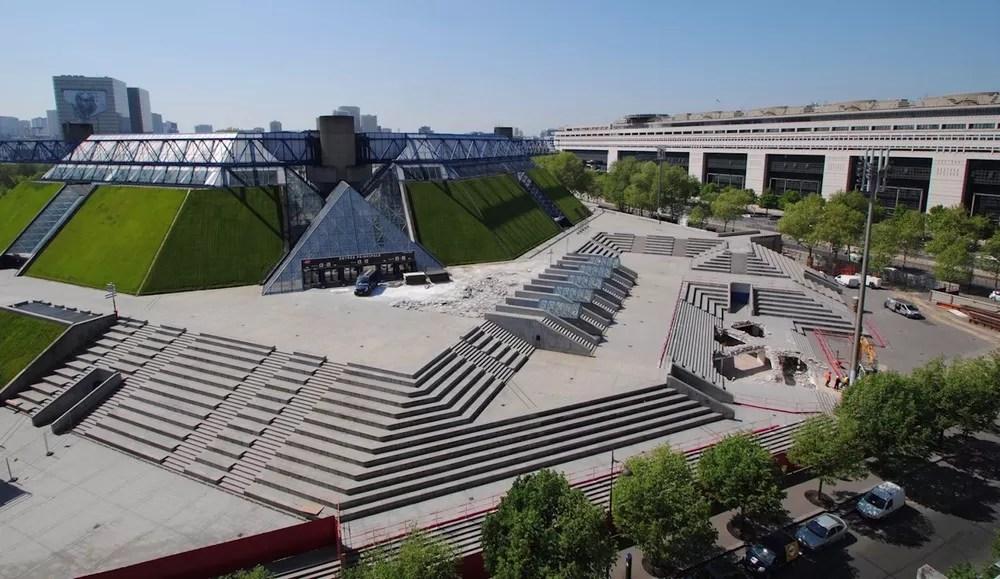 The AccorHotels Arena In Paris E Architect