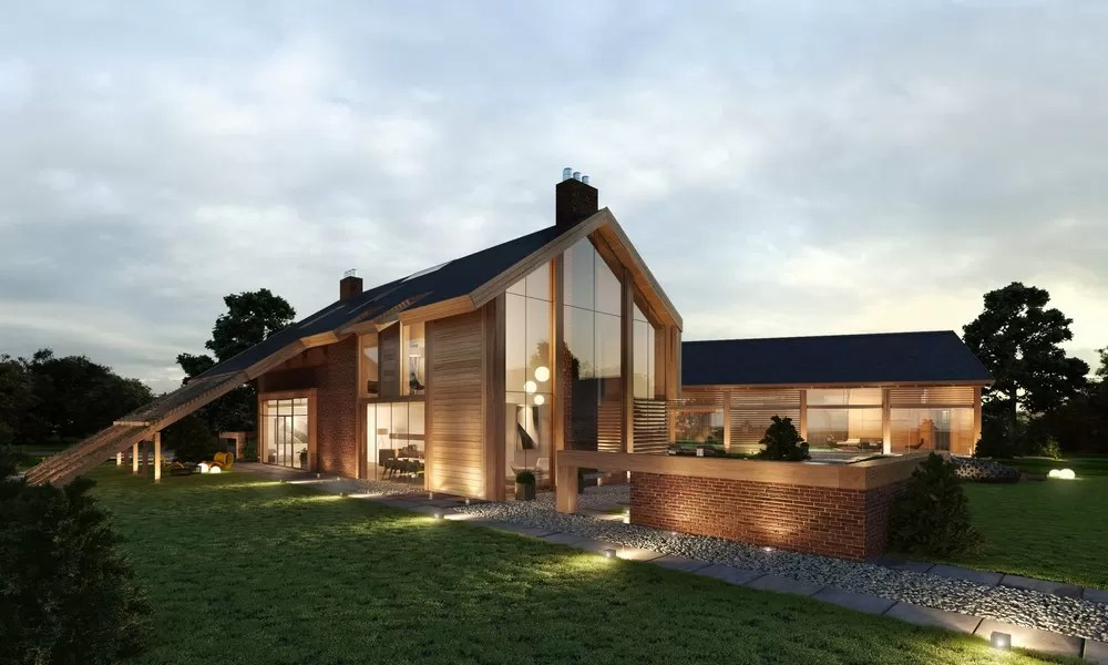 Contemporary Farmhouse In Great Bealings Suffolk E Architect