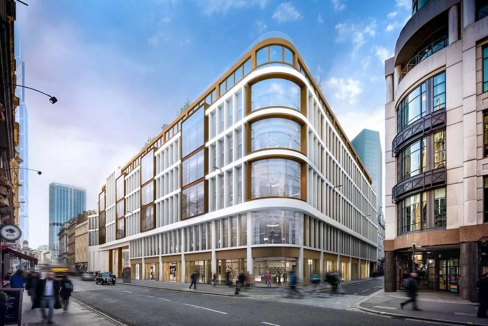 60 London Wall Development Proposal E Architect