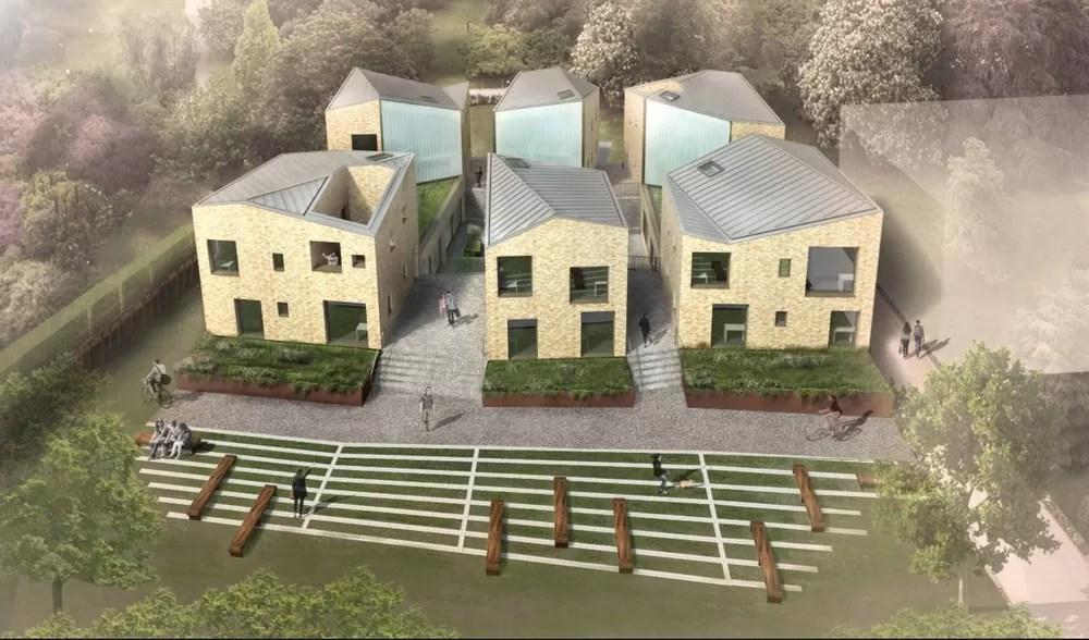 6 Pavilions University College Oxford E Architect