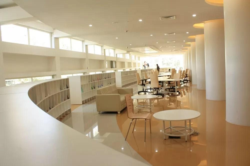 Central Library Of IIT Bombay Mumbai E Architect