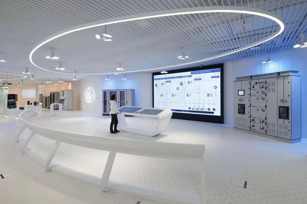 GE Customer Experience Center In Bielsko Biala E Architect