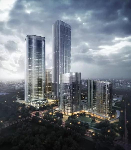 High Tech City In Changchun E Architect