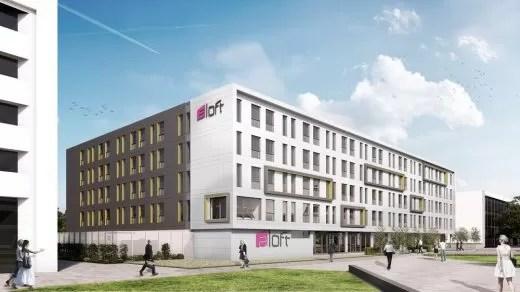 Aloft Hotel Aberdeen AECC building design