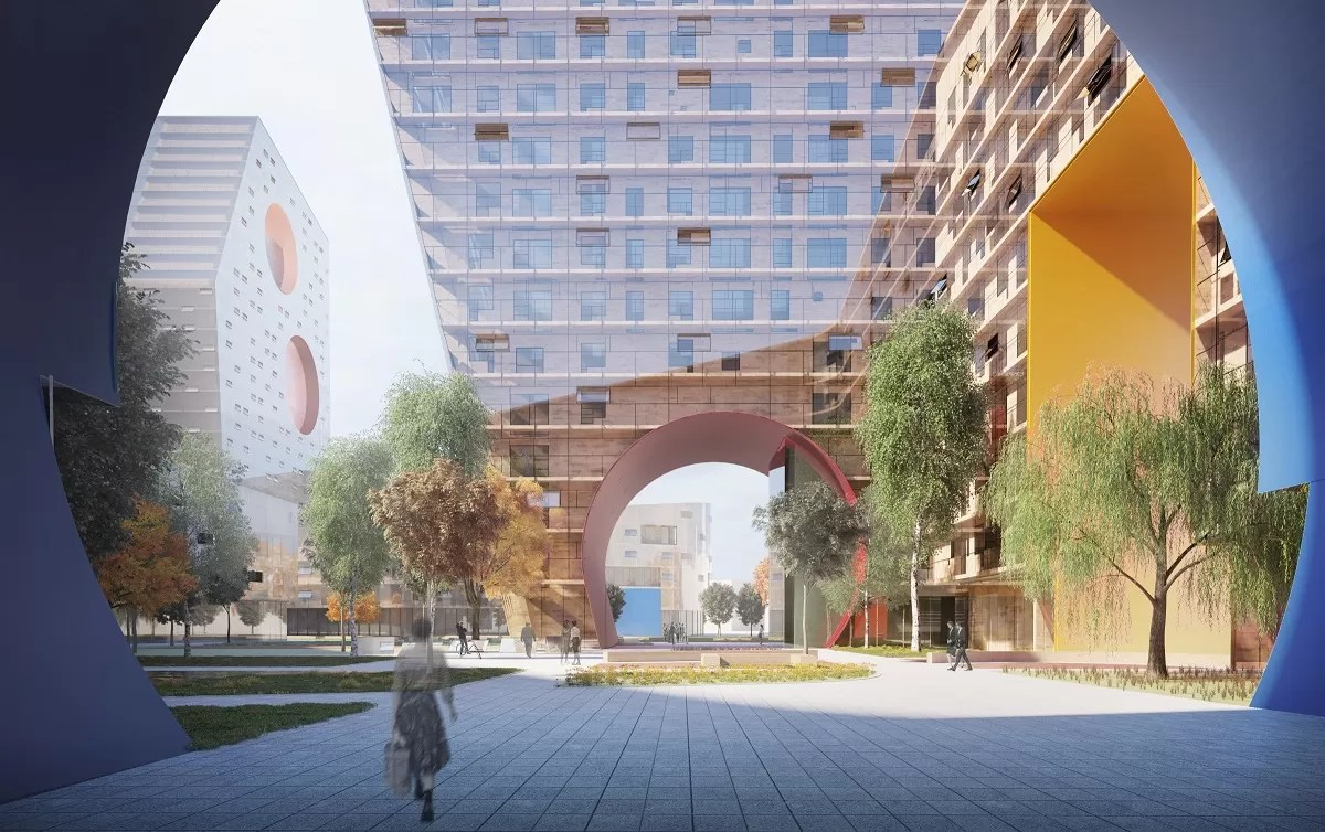 Tushino Moscow Building By Steven Holl Architects E