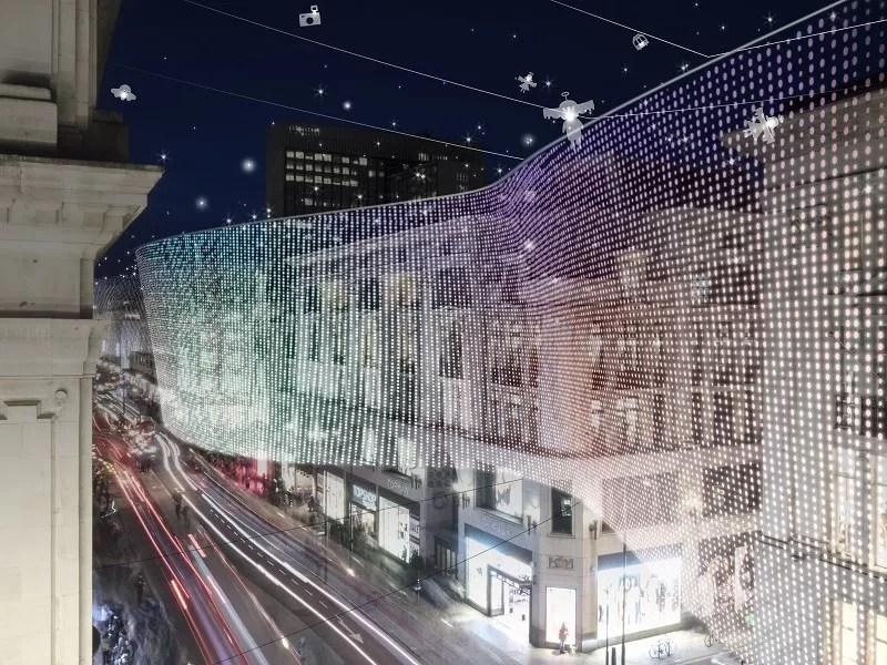 Oxford Street Christmas Lights 2018 E Architect