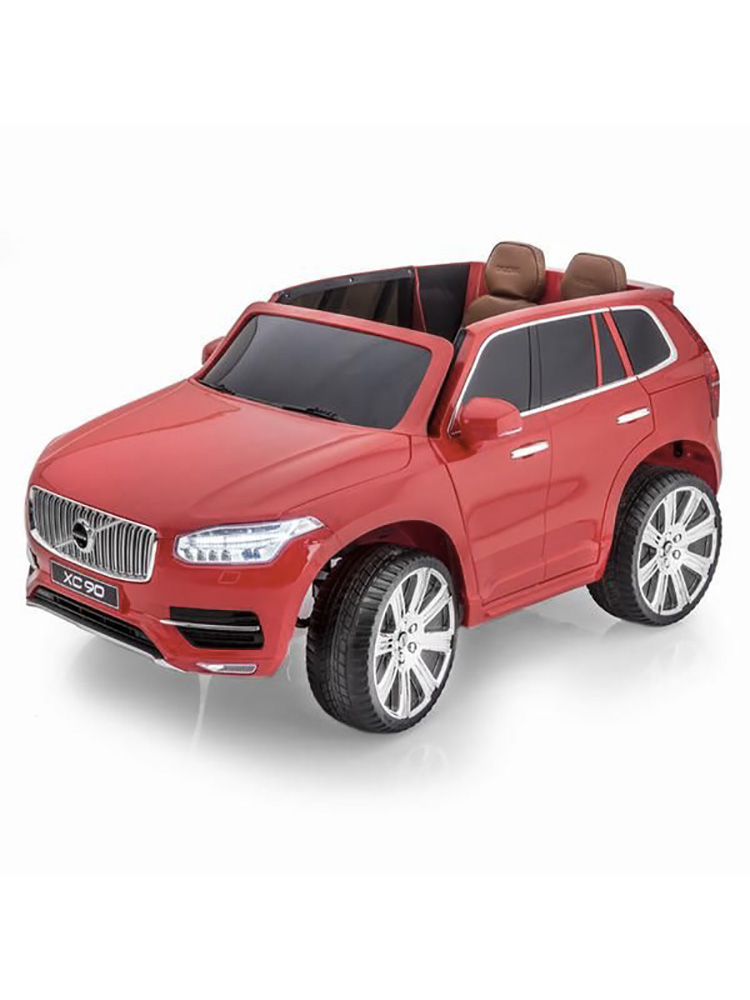 voiture lectrique 2 places 12v volvo xc90 rouge pack luxe. Black Bedroom Furniture Sets. Home Design Ideas