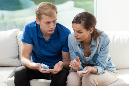 Marriage having problems with money