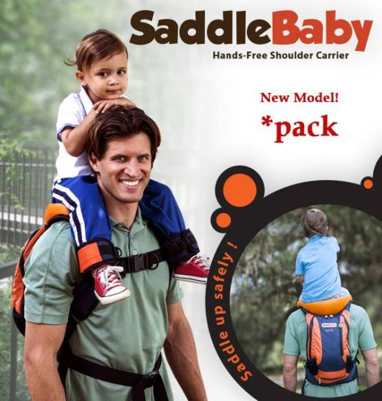 SaddleBaby sac à dos