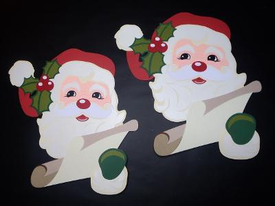 Père Noël et sa liste