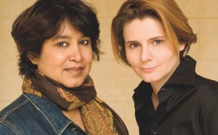 Taslima et Caroline