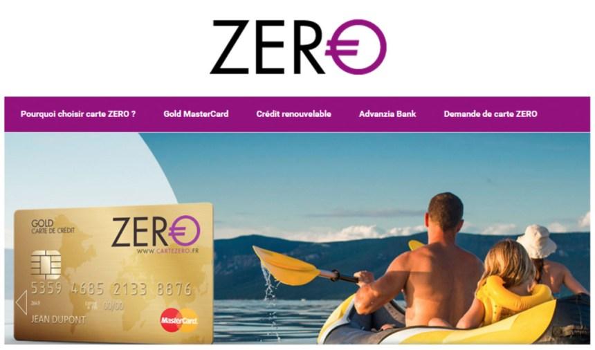 assistance carte zero gold mastercard