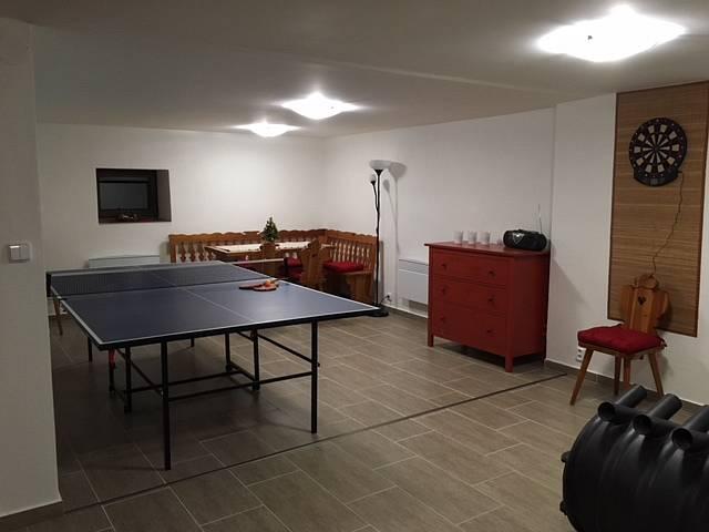 Společenská místnost v přízemí
