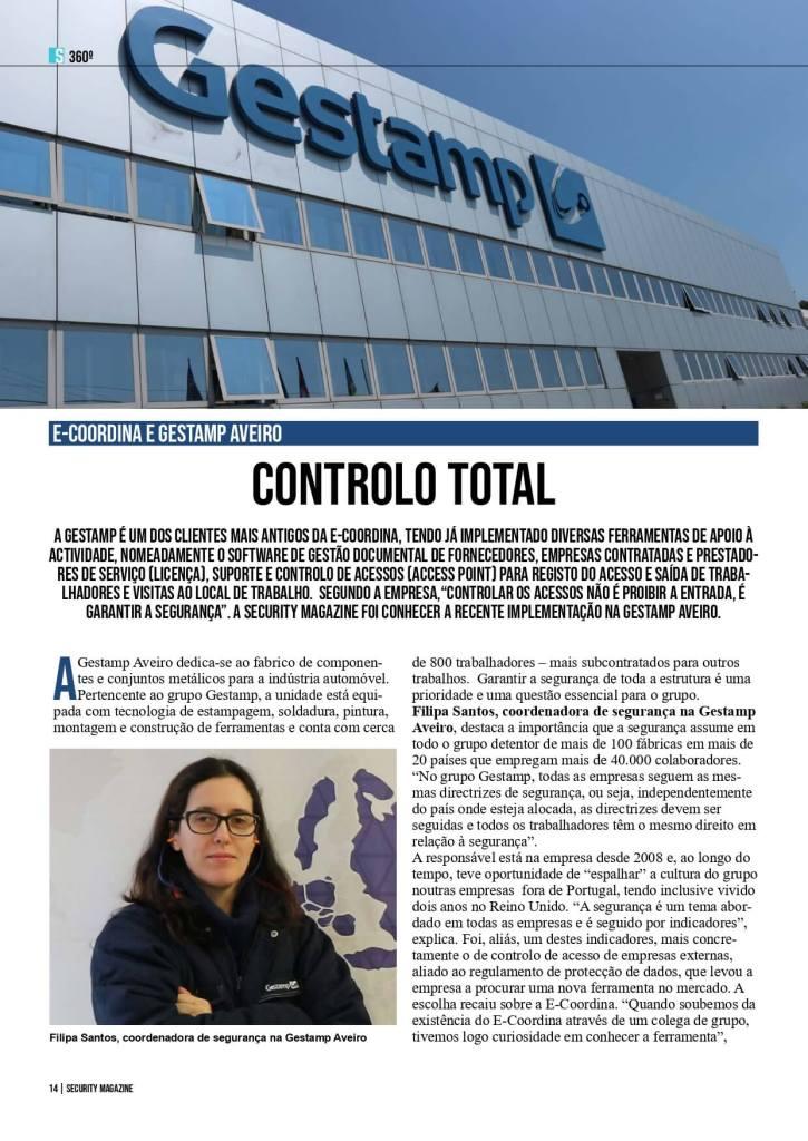 Entrevista Gestamp. Controlo Total. 1