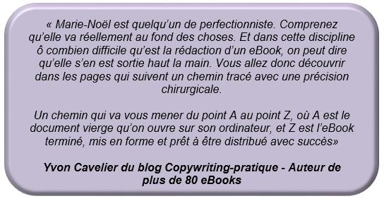 Témoignage Yvon Cavelier
