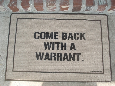 Warrant -doormat