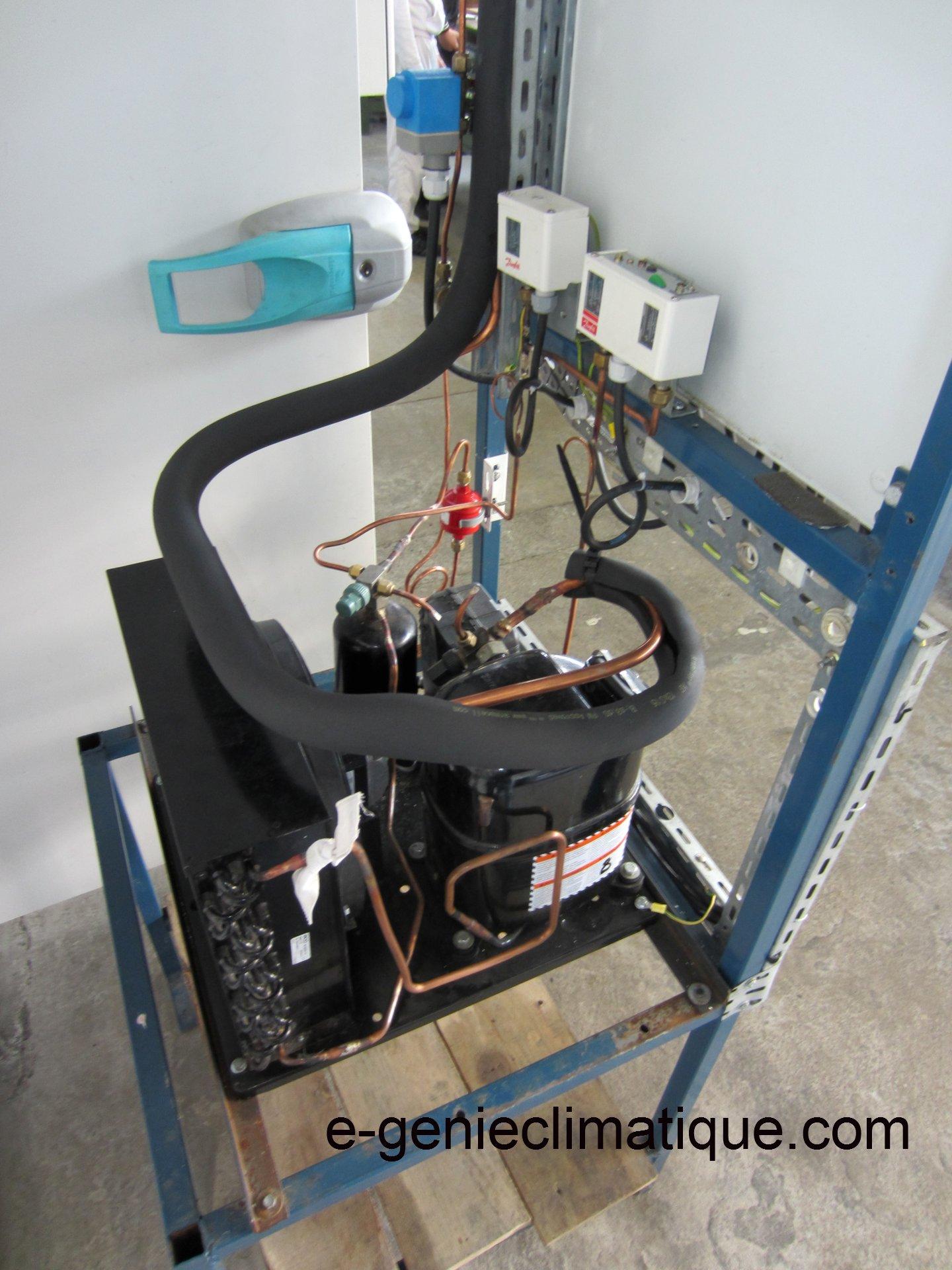 Froid01 Le Circuit Frigorifique De Base Dans Une Chambre