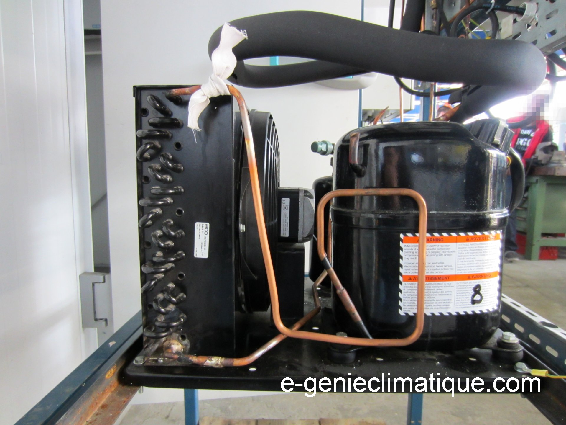 Radiateur Schema Chauffage Circuit Frigorifique Chambre