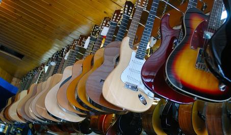 Kaufen im Gitarren Shop