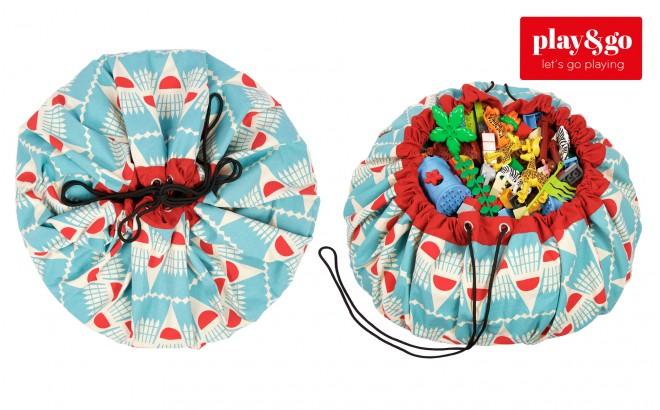 badminton storage bag and play mat