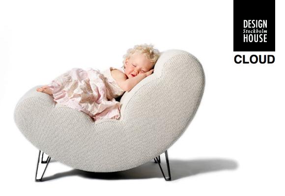 cloud petit fauteuil confortable
