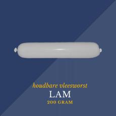 Lam vleesworst 200 gram