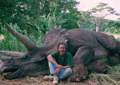 A la caza de la imagen del dinosaurio