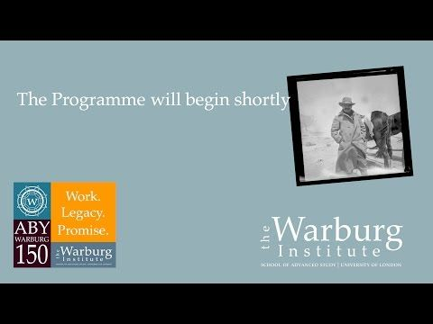 Aby Warburg 150. Work. Legacy. Promise. (Dia 3)