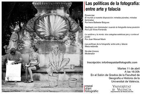 Las políticas de la fotografía. Entre arte y falacia.