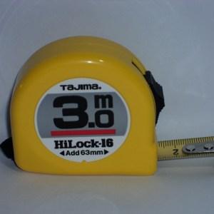 MΕΤΡΟ 3M 1,6mm ΚΙΤΡΙΝΟ HI-LOCK16 TAJIMA