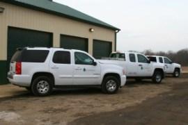 Clean White Trucks