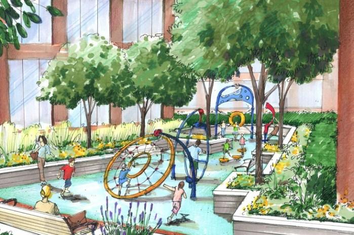 E-Landscape Completes Landscape Installation at Arlington Mills