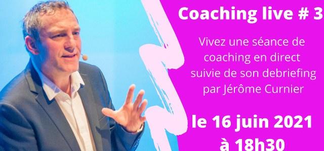 Coaching Live tous les mois