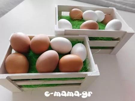 Βάφουμε πασχαλινά αυγά με χρώματα ζαχαροπλαστικής 4