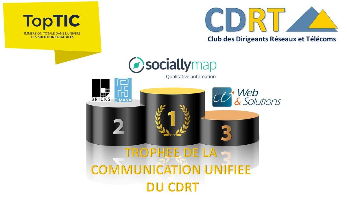 eMANA gagnant du Trophée du CDRT 2016