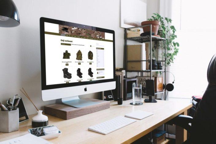 Web pro e-shop s army oblečením | www.army-mix.cz