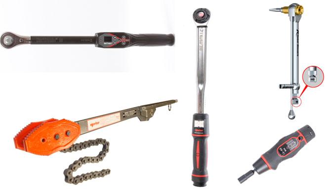 Figura 3: Fotografías de herramientas dinamométricas manuales (Cortesía de NORBAR)
