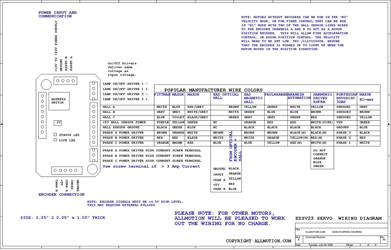 Panasonic Servo Motor Wiring Diagram