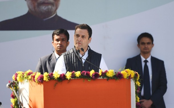 India's Rahul Gandhi takes over as president of Congress