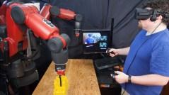 robot e realtò virtuale