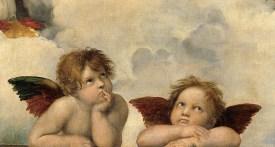 Rafael, Madonna Sixtina, détail
