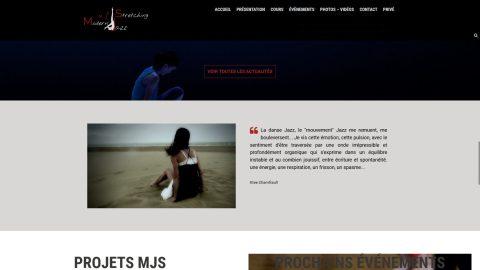 Exemple de création de site internet par Anne-laure Rondeau e panorama amélioration image digitale Sautron (Nantes, 44)