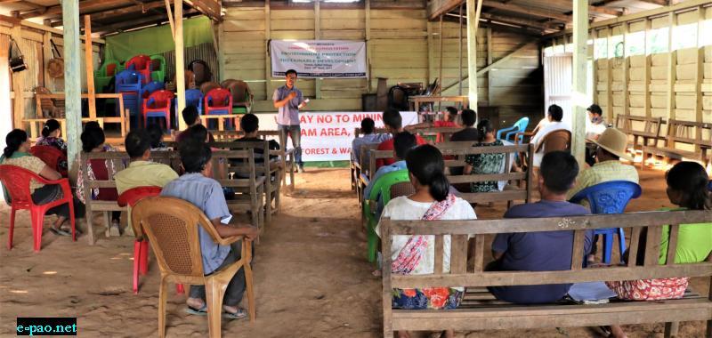 Consultation on Environment Protection at Saibol Village, Tengnoupal