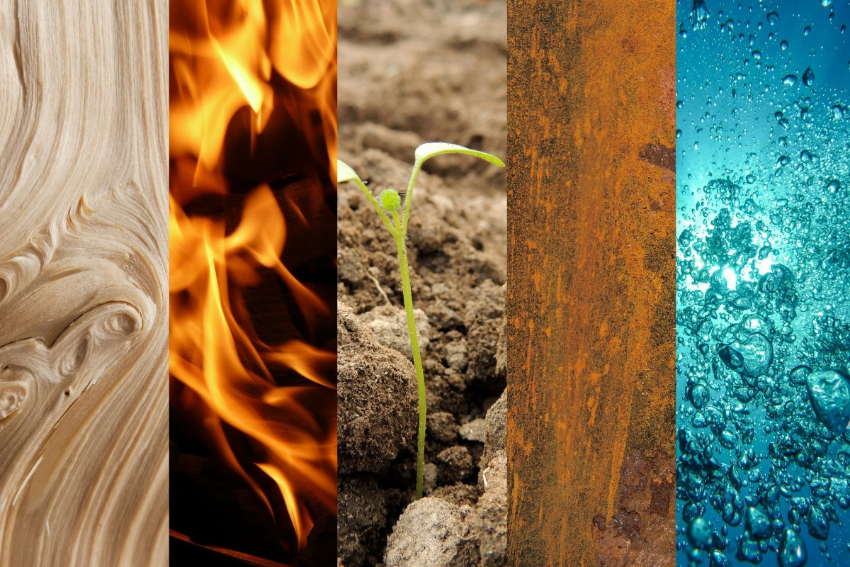 5 elements chinois