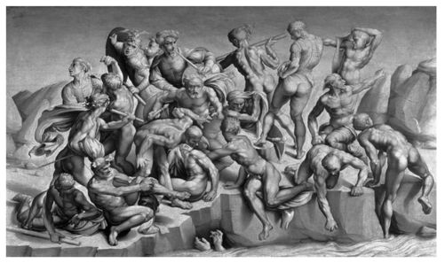 Michelangelo And The Michelangelo Battle Of Cascina